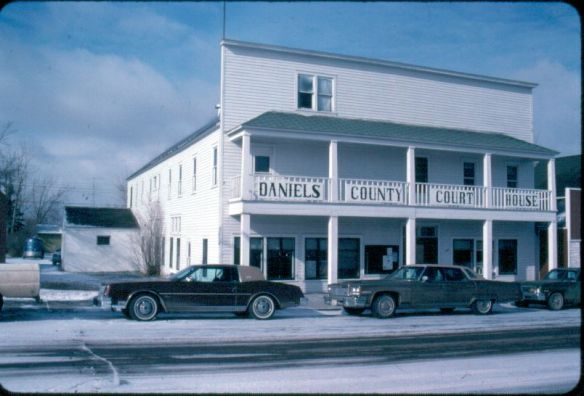 Daniels County Courthouse, February 1984
