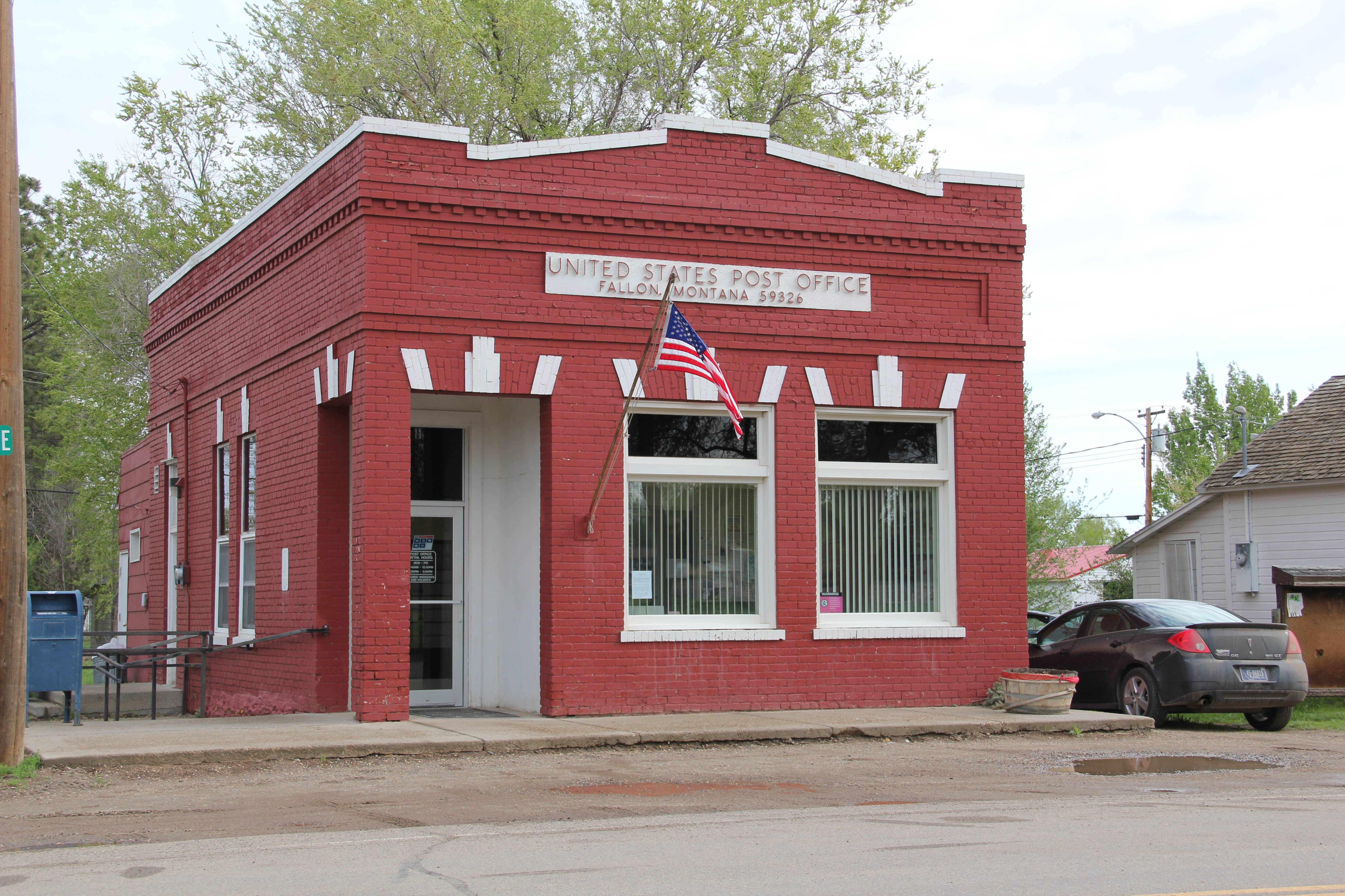 Montanas historic post offices