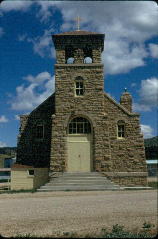 St Paul S Catholic Mission Hays Mt Montana S Historic