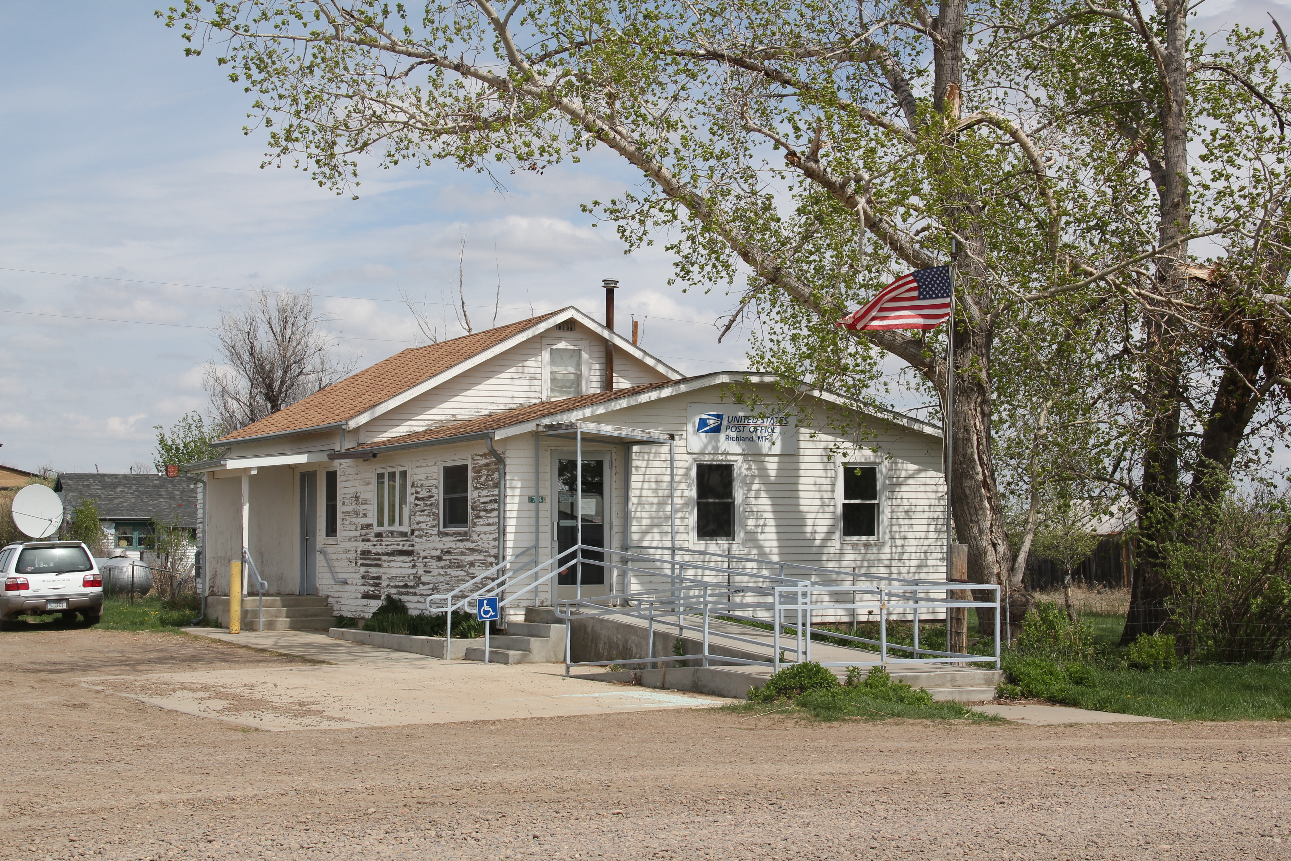 Montana post offices