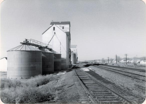 Elevators along Great Northern line, 1984