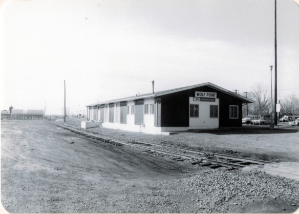 Wolf Point depot, Roosevelt  County