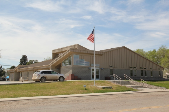 New county office building in Culbertson
