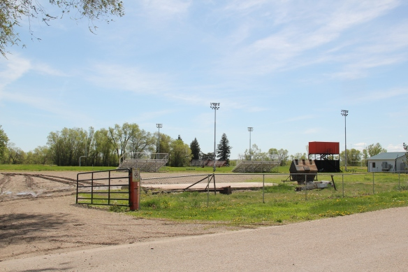 Football field at Savage