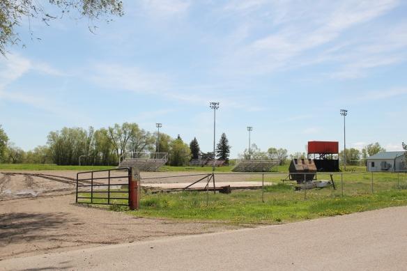 Football field at Savage