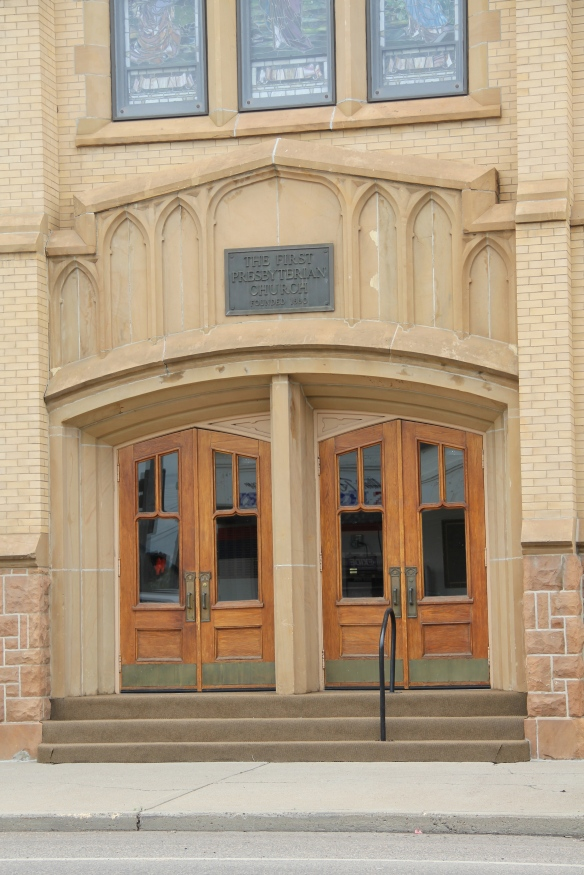 First Presbyterian, entrance, Miles City