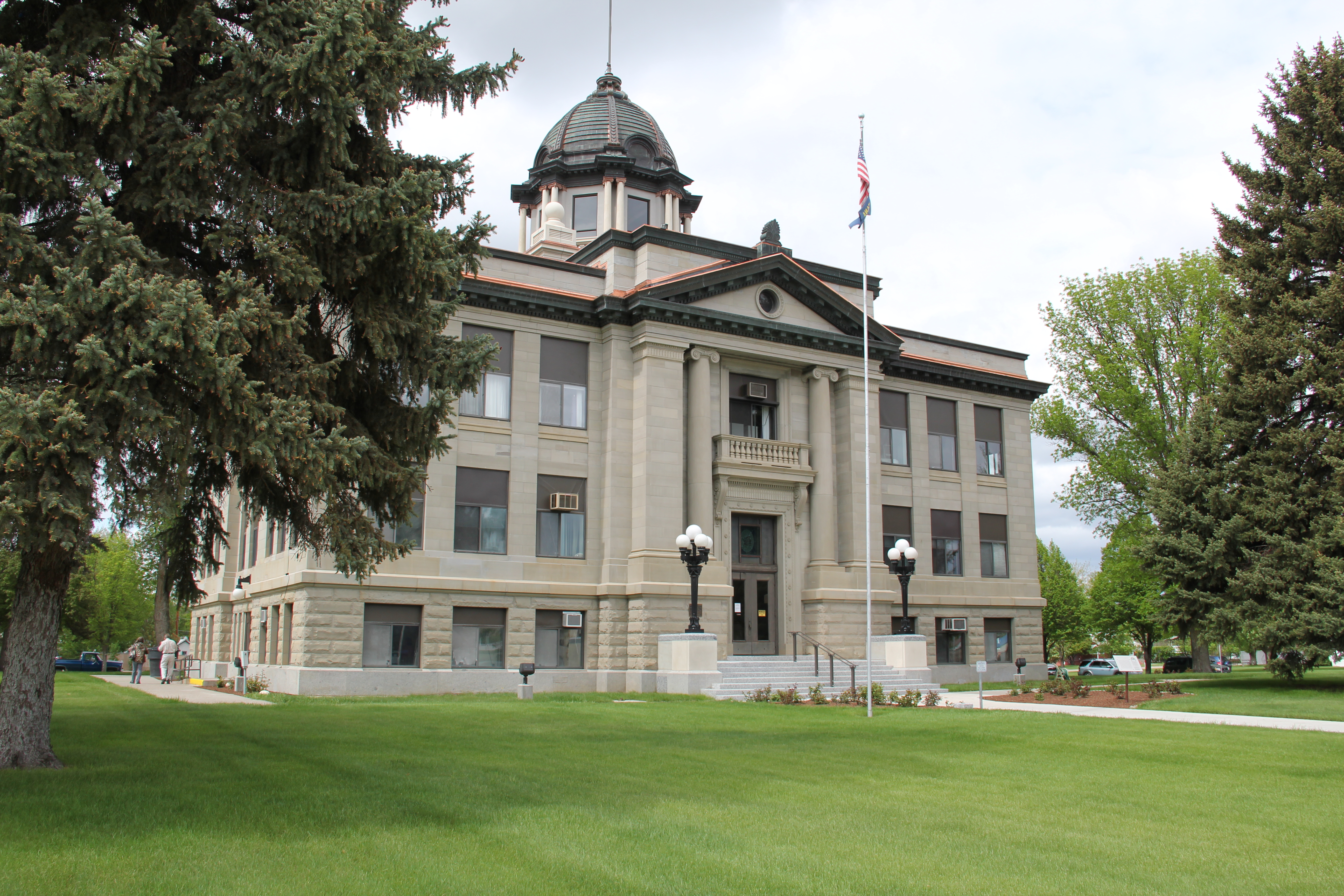 Montana rosebud county forsyth - The Rosebud County Courthouse In Forsyth Is Listed In The National Register Of Historic Places