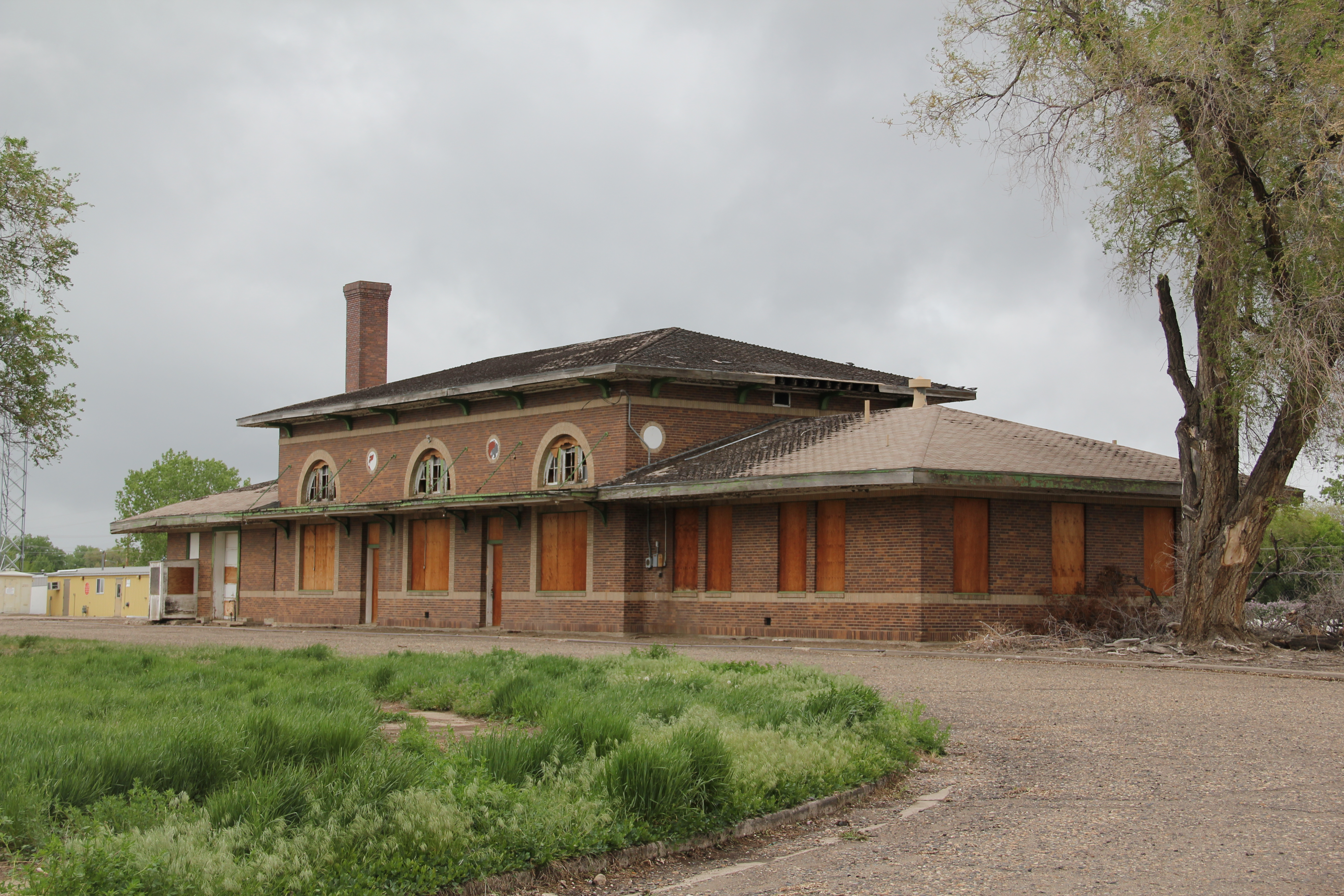 Northern Pacific Railway Depot, C. 1924, Miles City. It Has Been Listed