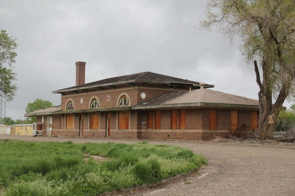 Northern Pacific Railway depot, c. 1924, Miles City.  It has been listed in the National Register but it needs a preservation hero.