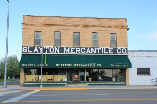 Slayton Mercantile, Lavina, MT, 2013