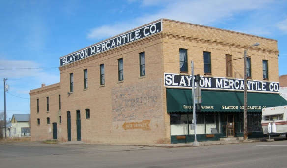 Slayton Mercantile, Lavina, MT, 2007
