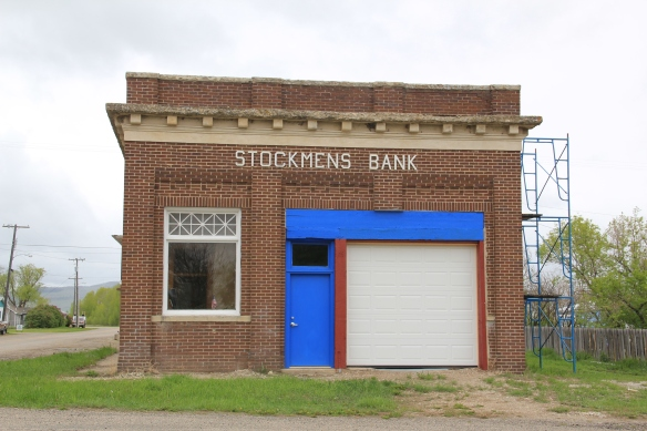 Renovations at the Stockman's Bank, 2013