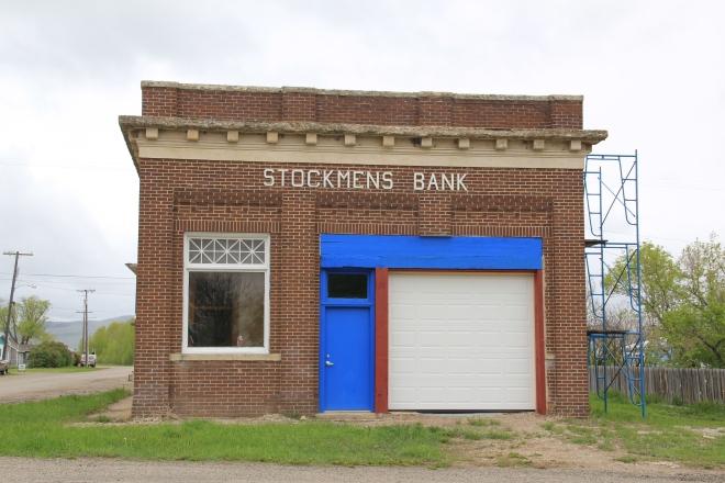 Renovations at the Stockman's Bank, 2013