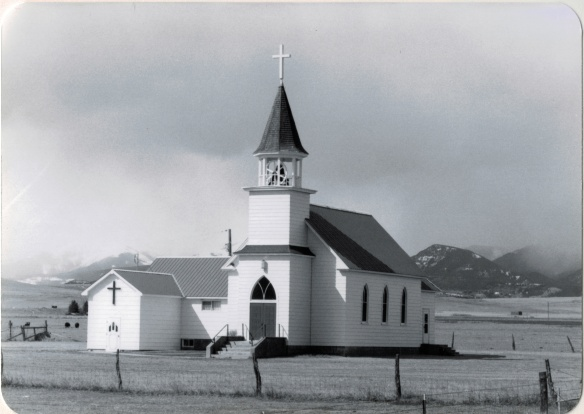 Melville Lutheran Church, Sweetgrass Co (38-7)