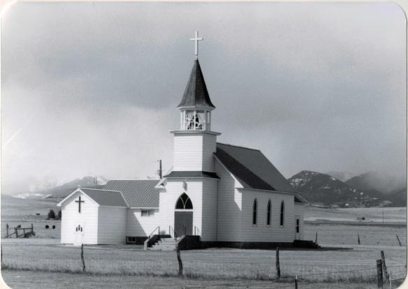 Melville Lutheran Church, Sweetgrass Co (38-7)