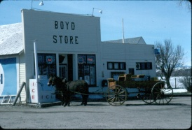 General Store- PO. Boyd Caron Co. MT