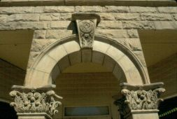 Detail Masonic Temple Lewistown Fergus Co