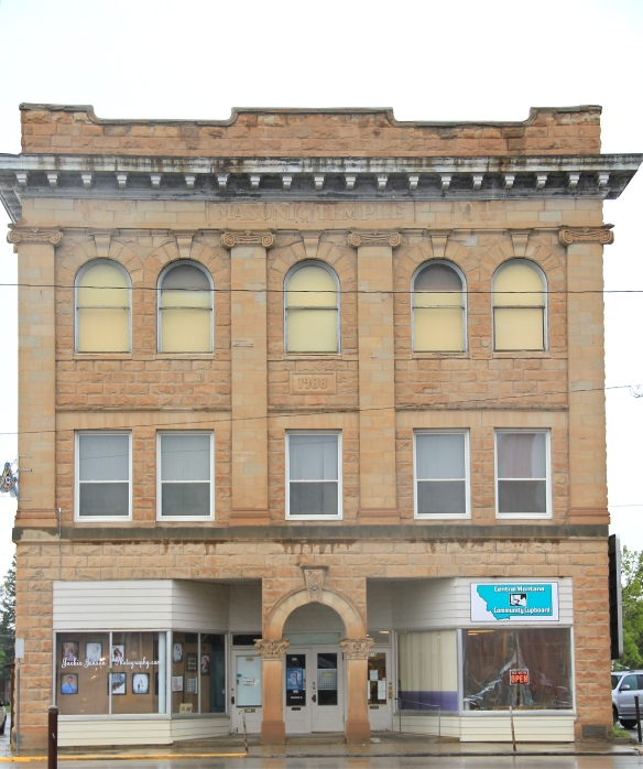 Fergus Co Lewistown masonic temple downtown commercial HD 13 - Version 2