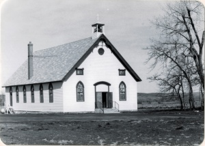 St. Xavier Mission Chapel, Crow Reservation (45-2)