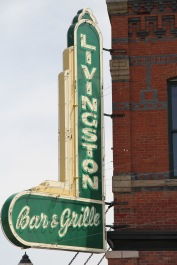 Park Co Livingston bar and grille sign