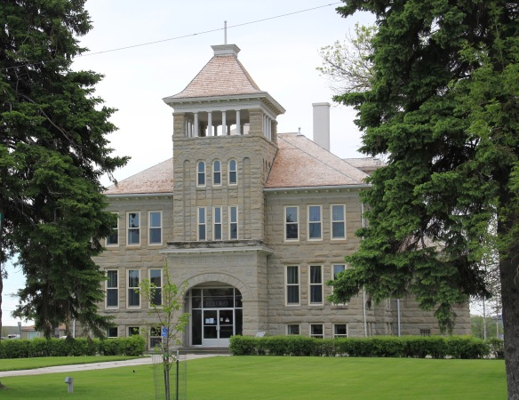 Teton Co Choteau courthouse