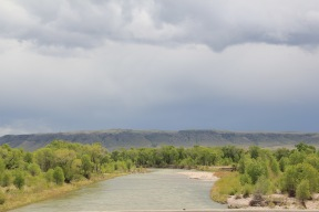 Sun River from U.S. 89