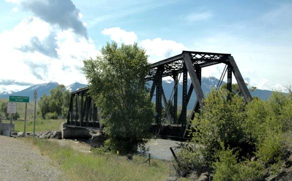 Park Co US 89 Yellowstone River NPRR bridge