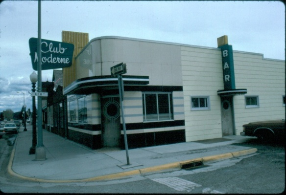 Club Moderne Anaconda Deer Lodge Co. MT