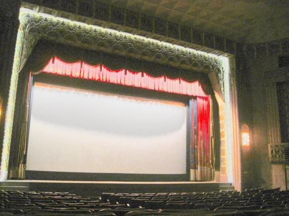 Anaconda Washoe Theater screen