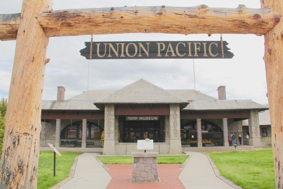Gallatin Co West yellowstone Union Pacific Depot NRHD