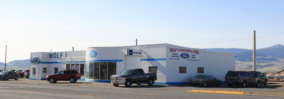Ford dealer, Art Moderne, MT 2, Whitehall