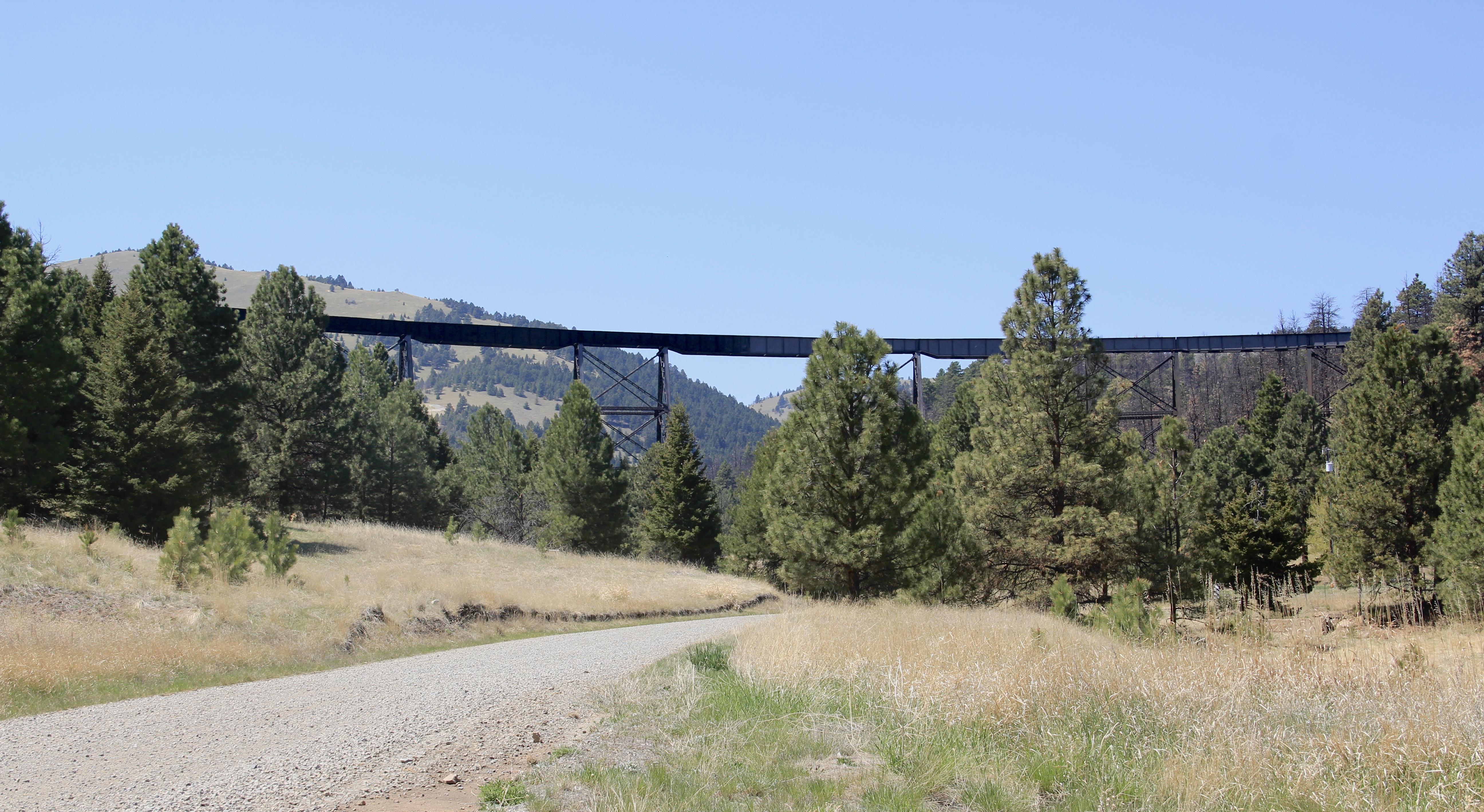 Corbin train trestle