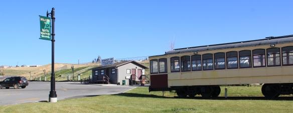 Berkeley Pit, entrance, Butte