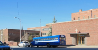 Butte Central, international style, Park at Idaho, Butte