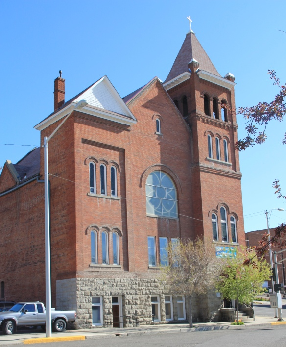 1st Baptist, W. Broadway, 1907, by Charles Passmore & Co., Butte