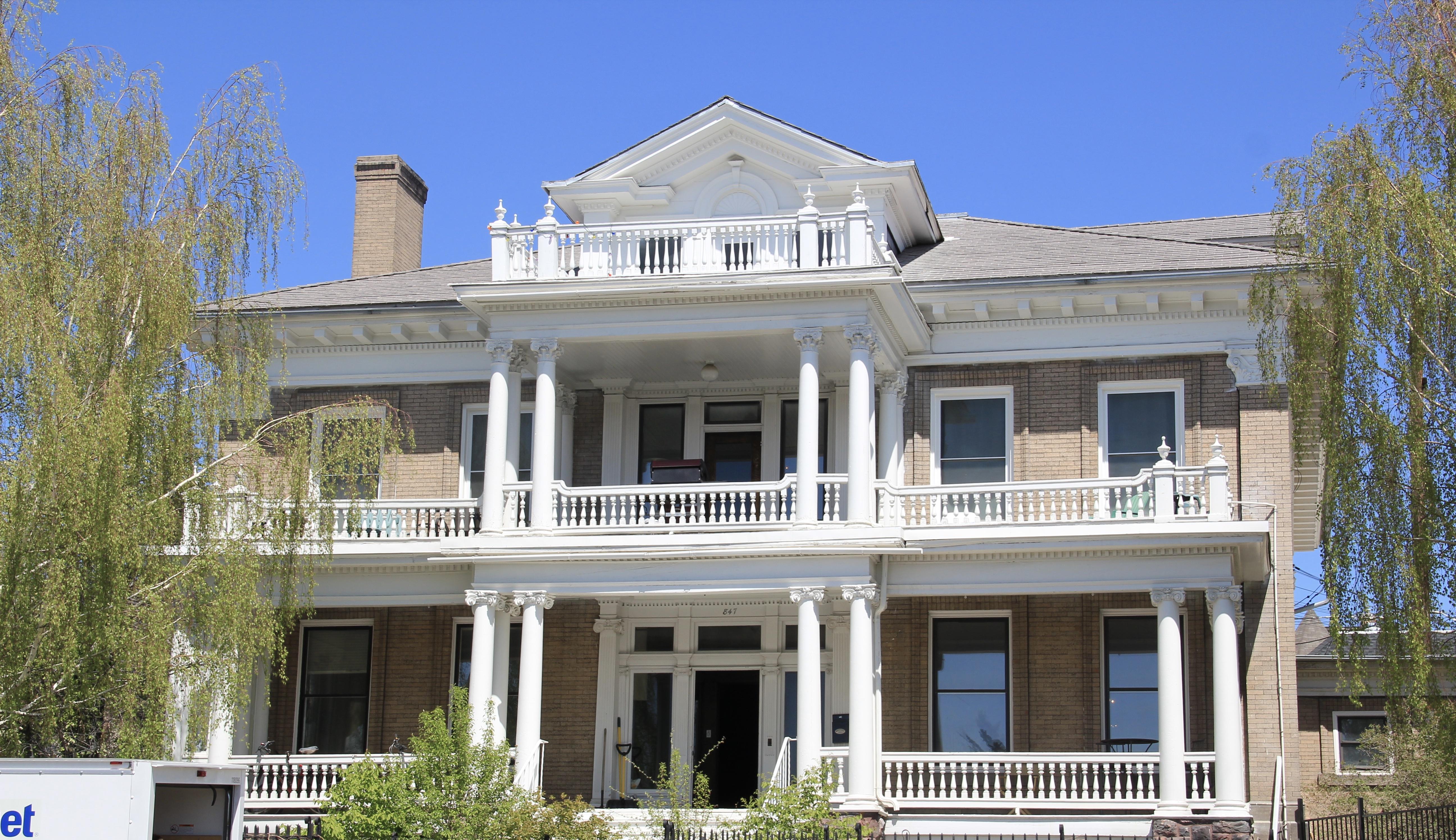 847 Park, Hennessey Mansion, c. 1900, Butte