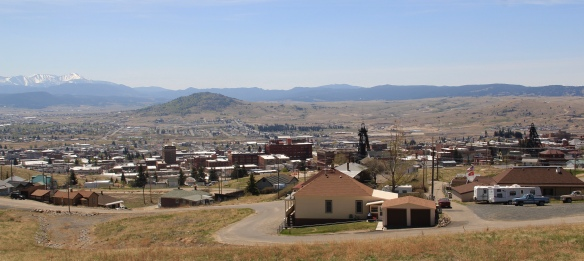 Butte from Mile High Mine