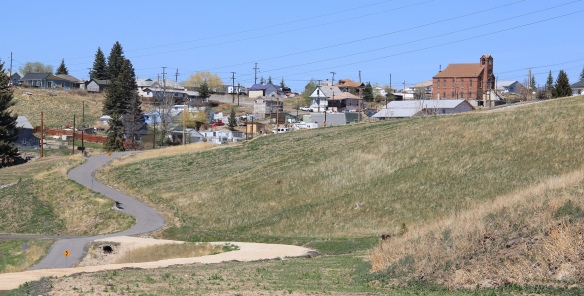 Butte Greenway towards Walkerville