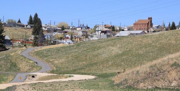 Butte Greenway towards Walkerville