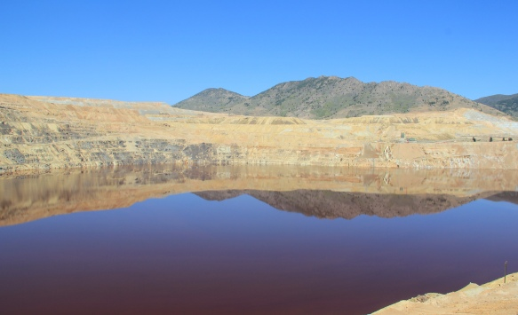 Berkeley Pit in p.m.