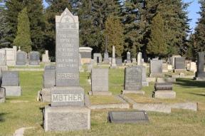 B'nai Israel Cemetery, 2, Butte
