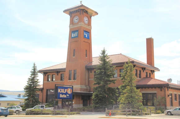 Milwaukee Road depot, Montana St, best shot