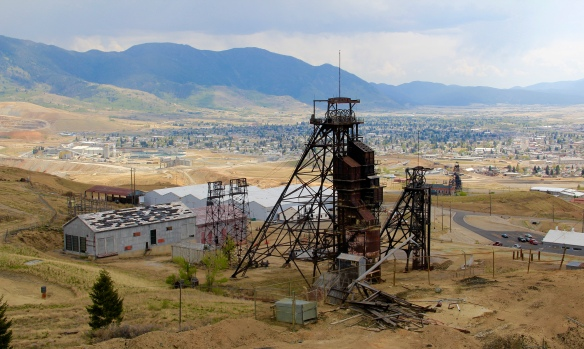 Headframe from Mountain Con