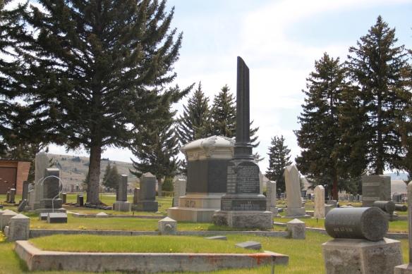 B'nai Israel Cemetery, Butte