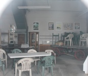 BAP roundhouse interior