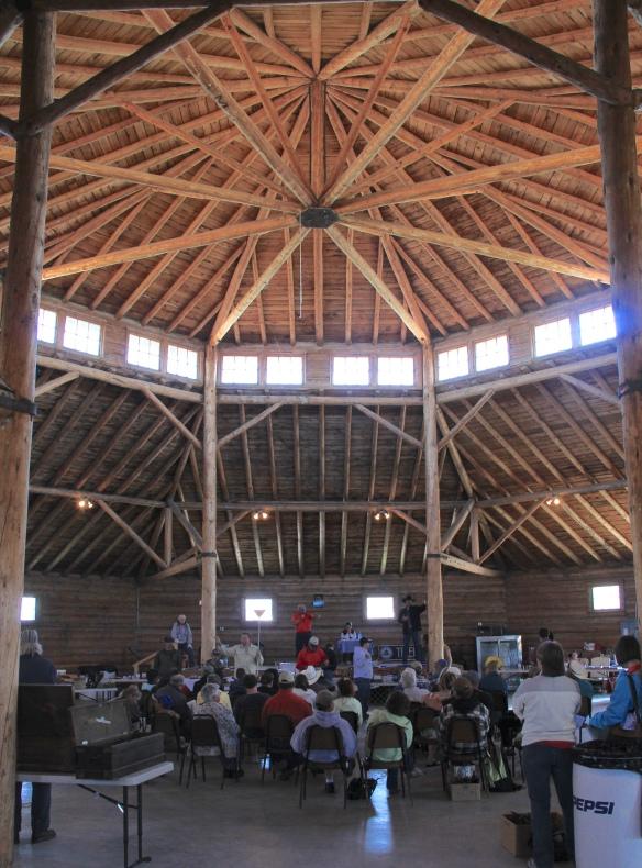 Madison County Fair roof