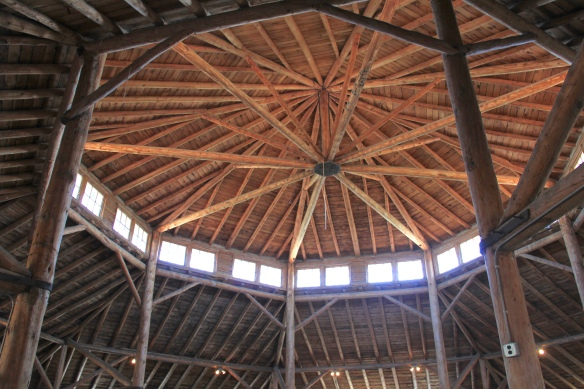 Roof interior, Madison Co fairgrounds
