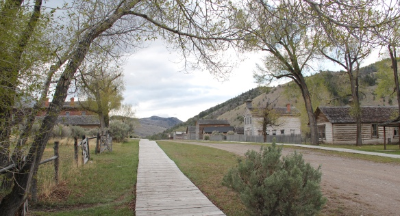 Bannack streetscape