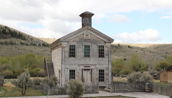 Bannack NHL school, masons 10