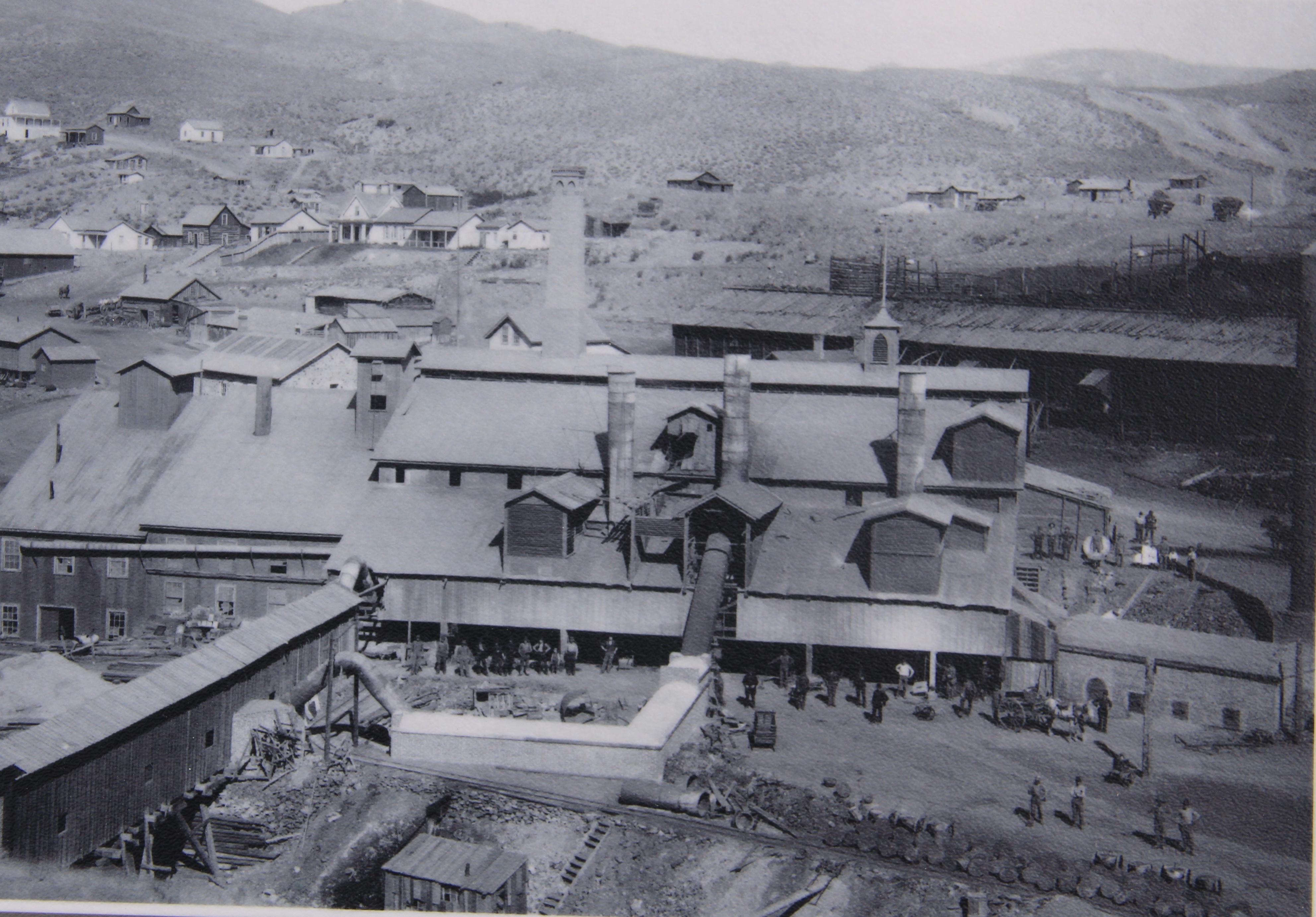 Glendale smelter photo at Canyon Creek Kilns 4